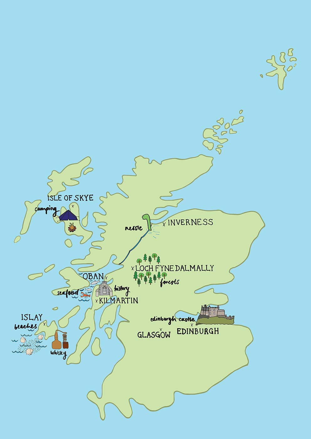 Islay Scotland Map.Islay Scotland 7 Great Things To Do If You Don T Drink Whisky